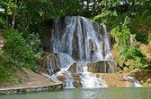 Lucky waterfall in Slovakia — Stock Photo