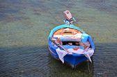 Denizde balıkçı teknesi — Stok fotoğraf