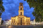 Ludwigskirche -  a baroque style church in Saarbrucken — Stock Photo