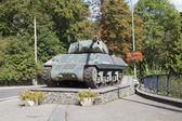 Achilles Tank Destroyer Mk10 at La Roche-en-Ardenne — Stock Photo