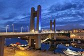Recouvrance Bridge, Brest, France — Stock Photo