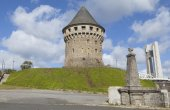 Tanguy tower in Brest, Brittany, France — Stock Photo