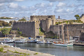 Old castle of city Brest, Brittany, France — Stock Photo