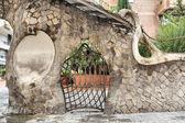 Miralles Gate (Finca Miralles) in Barcelona — 图库照片