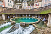 La fosse Dionne - the spring in the center of Tonnerre — Stock Photo