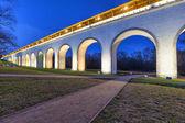 Rostokino aqueduct in Moscow, Russia — Stock Photo