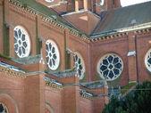 Antiga catedral de St. Peterindjakovo, Croácia — Fotografia Stock