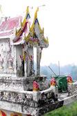 Little Thai temple — Stock Photo