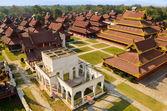 Mandalay-Königspalast — Stockfoto