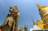 Giants in Grand palace and Wat Pra Keaw, Bangkok, Thailand — Stock Photo