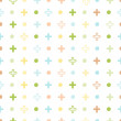 Baby pastel seamless patterns — Stock Vector #52642957