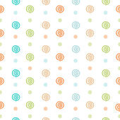Baby pastel seamless patterns — Vetor de Stock