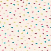 Triangle pastel powder background — Stock Vector