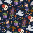 Bride Halloween vector seamless patterns. Endless texture can be used for wallpaper, pattern fills, web page,background — Stock Vector #55697837