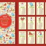 New Year calendar — Stock Vector #63734815