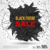 Black Friday Sale. — Stock Vector