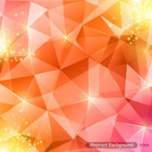 Multicolor abstract shining ice vector background.  — Stock Vector