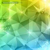 Multicolor abstract shining ice vector background.  — 图库矢量图片