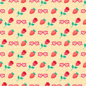 Cute Valentine seamless pattern. — Stock Vector
