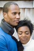 Beauty african couple — Stock Photo