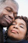 Ritratto di una coppia africana — Foto Stock