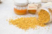 Propolis grains — Stock Photo