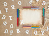 Back to school- background. — Stock Photo
