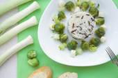Saudável almoço vegetariano — Foto Stock