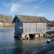 Old boat house — Stock Photo #69951523
