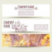Corporate identity business design — Stock Vector