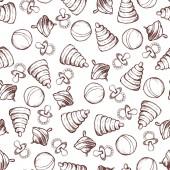 Seamless pattern di giocattoli — Vettoriale Stock