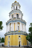 KYIV, UKRAINE - MAY 9, 2015: Kiev (Kyiv) Pechersk Lavra Great Bell Tower in Kyiv, Ukraine — Stock Photo