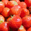 Lots of tasty red strawberries — Stock Photo #73901203