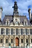 PARIS, FRANCE - 25 MAY, 2015: Paris City Hall called Hotel de Ville — Stock Photo