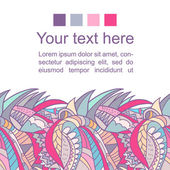 Abstract romantic vector background with space for your text — Stock vektor