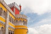 Detail of tower of Pena Castle — Stock fotografie