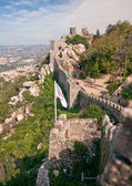 Castle of Moors in Sintra, Portugal — Stock Photo