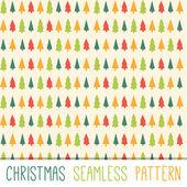 Vector Christmas pattern. — Stock Vector