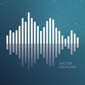 Vector equlizer. — Stock Vector