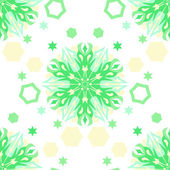 Christmas ornamental seamless background — Stock Vector