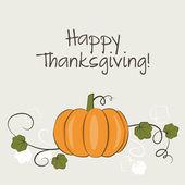 Thanksgiving card — Stock Vector