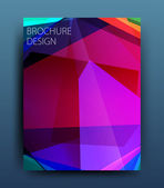 Business flyer template — Stock Vector