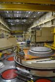 Nuclear reactor hall in a power plant — Stock Photo
