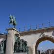 Постер, плакат: Leopold II statue king of the Belgians