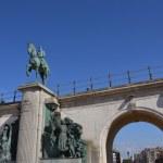 ������, ������: Leopold II statue king of the Belgians