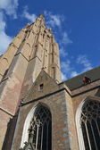 Church of Our Lady in Bruges, Belgium — Stock Photo