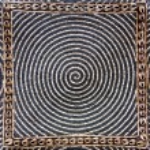 Bead woven mat texture — Stock Photo #66660209