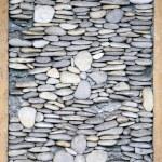 Pebble framed decoration texture — Stock Photo #66661475