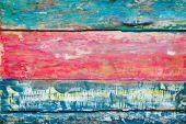 Soyulmuş çok renkli boyalı ahşap doku — Stok fotoğraf