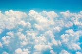 Clouds airplane view — Stock Photo